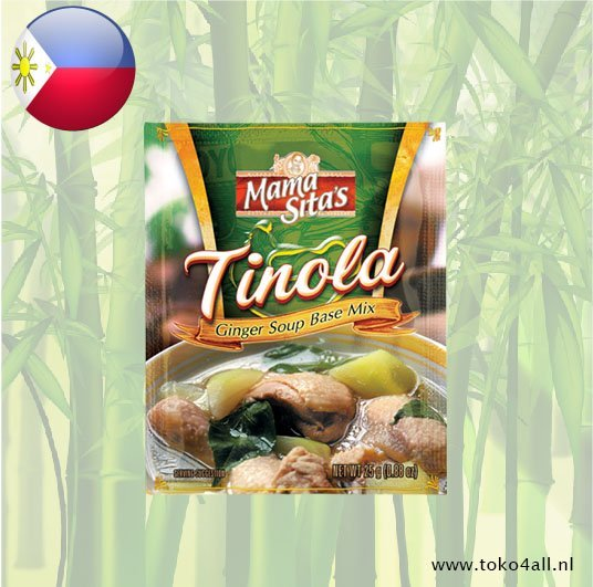 Toko 4 All - Tinola Ginger Soup Mix 25 gr Mama Sita
