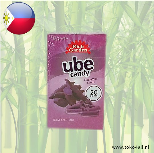 Toko 4 All - My Little Philippines - Ube Candy 120 gr Rich Garden