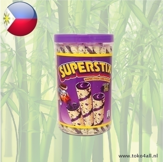 Toko 4 All - Ube Wafer Sticks 335 gr Superstix