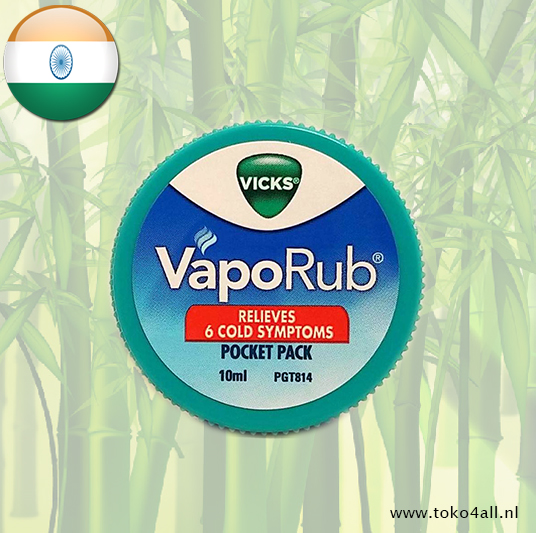 Toko 4 All - Vaporub balm 10 ml Vicks