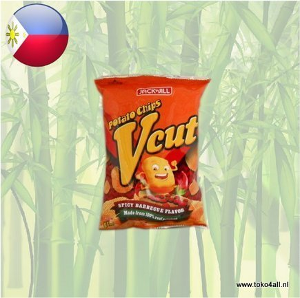 Toko 4 All - Vcut Spicy Barbecue Chips 60 gr Jack N Jill
