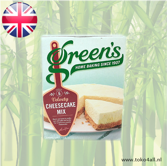 Toko 4 All - Velvety Cheesecake Mix 259 gr Greens