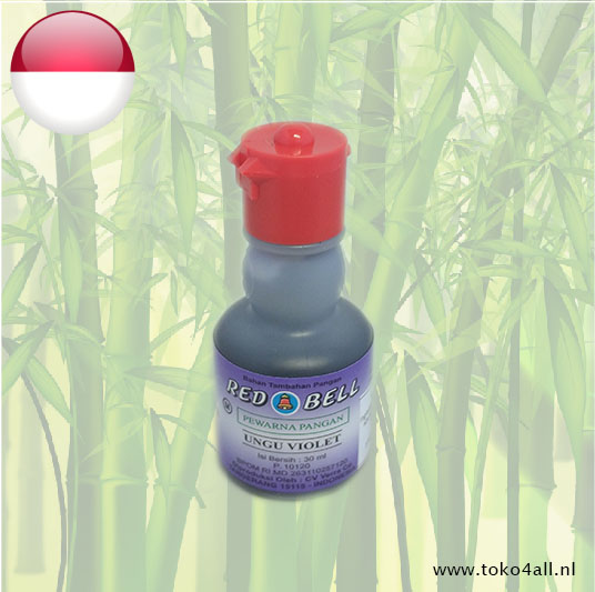 Toko 4 All - Voedings Kleurstof Violet 30 ml Red Bell