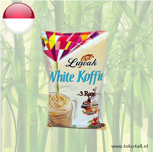 Toko 4 All - White Coffee 3 flavors 200 gr Luwak