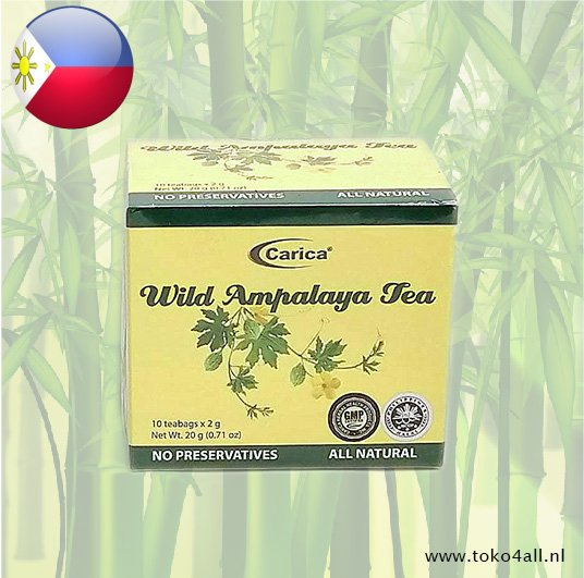 Toko 4 All - Wilde Ampalaya thee 20 gr Carica
