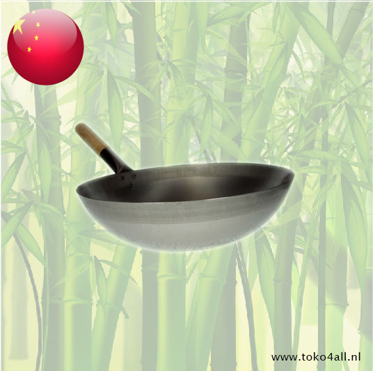 Toko 4 All - My Little Philippines - Wok with wooden handle 36 cm