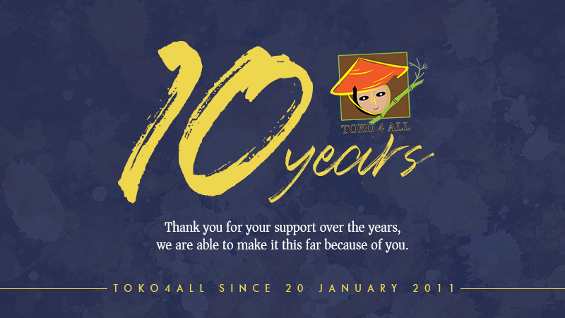 10 years - Toko 4 all - My Little Philippines